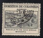 Sellos de America - Colombia -  Recoleta de San Diego.