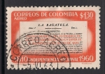 Sellos de America - Colombia -  Página principal del periódico La Bagatela 1811.