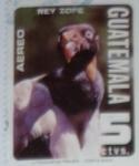 Stamps : America : Guatemala :  Rey Zope