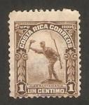 Sellos del Mundo : America : Costa_Rica : estatua de juan santamaria