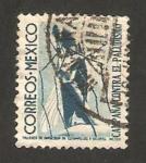 Stamps : America : Mexico :  1 - Campaña contra el paludismo