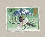 Stamps United Kingdom -  Navidad 1983