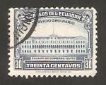Stamps : America : Ecuador :  palacio de gobierno en quito