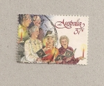 Sellos de Oceania - Australia -  Coro
