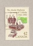 Sellos de America - Canadá -  La carretera a Alaska