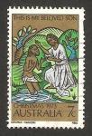 Stamps : Oceania : Australia :  navidad, el bautismo de cristo