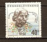 Sellos de Europa - Checoslovaquia -  LUDMILLA   PODJAVORINSKA