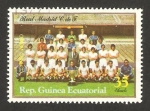 Stamps Africa - Equatorial Guinea -  real madrid club de fútbol