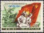 Stamps North Korea -  30 años de la creación de la República Democrática de Corea con gobierno de KIM Il SUNG.