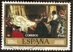 sellos de Europa - España -  Testamento de Isabel la Católica - Eduardo Rosales  y Martín