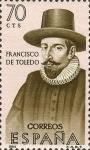 Stamps Spain -  forgadores de america