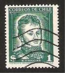 Stamps : America : Chile :  b.o
