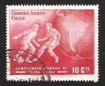 Stamps Chile -  mundial de fútbol Chile 1962