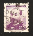 Stamps : America : Chile :  jorge montt, presidente