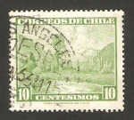 Stamps Chile -  valle del río maule
