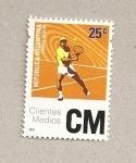 Stamps Argentina -  Tenista