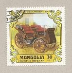 Stamps Mongolia -  Coche antiguo