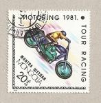 Stamps Mongolia -  Tour de motocicletas
