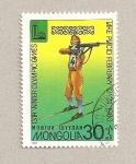 Stamps Mongolia -  Juegos olímpicos de invierno