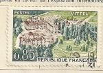 Stamps France -  Balneario de Vittel