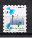 "Stamps : Europe : Spain :  Edifil  4476  Energías Renobables.  "" Energía Eólica. """