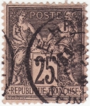 Sellos de Europa - Francia -  PAZ Y COMERCIO