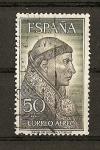 Stamps Spain -  Personajes /Cisneros