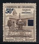 Sellos del Mundo : America : Colombia : El Mono de la Pila Tunja.
