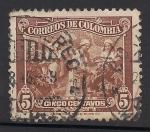 Stamps Colombia -  Recolección de Café.