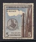 Sellos de America - Colombia -  Departamento de Boyaca.
