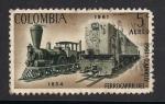 Sellos del Mundo : America : Colombia : Ferrocarril del Atlantico.