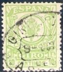 Stamps Europe - Spain -  ESPAÑA 1920 Sello Correos Giro 10c Usado Espana Spain Espagne Spagna Spanje Spanien