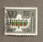 Stamps Sri Lanka -  Año internacional de la Juventud