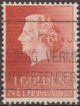 Sellos del Mundo : Europa : Holanda : Holanda 1954-57 Scott 361 Sello Reina Juliana 1G usado Netherland