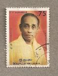 Stamps Asia - Sri Lanka -  G.G. Ponnamalam