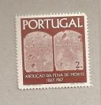 Stamps Portugal -  100 años abolición pena muerte
