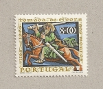 Sellos de Europa - Portugal -  800 aniv. reconquista de Evora