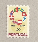 Stamps Portugal -  EFTA