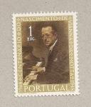 Stamps Portugal -  100 años nacimiento de Viana da Motta