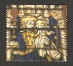 Sellos de Europa - Reino Unido -  Vidriera de la Catedral San Edmundsbury