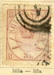 Sellos de Europa - Dinamarca -  Corona Real año 1864