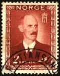 Sellos de Europa - Noruega -  Rey Haakon VII.