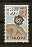 Stamps France -  Tema Europa