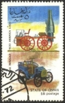 Stamps Asia - Oman -  Coches antiguos.