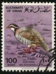 Sellos de Asia - Omán -  Alectoris melanocephala.