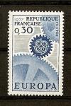 Sellos de Europa - Francia -  Tema Europa