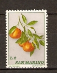 Sellos de Europa - San Marino -  MANDARINAS