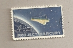 Stamps United States -  Proyecto Mercury