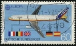 Stamps Germany -  Europa Airbus A 320.
