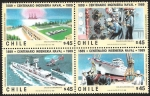 Stamps Chile -  CENTENARIO INGENIERIA NAVAL